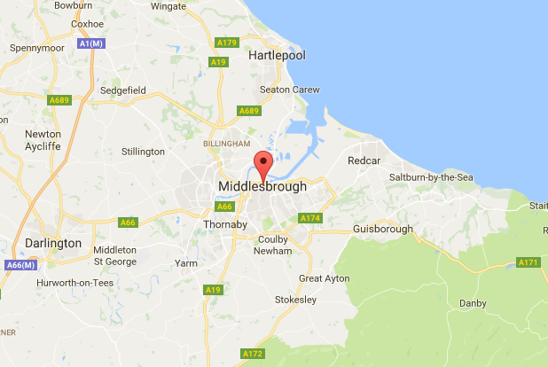 middlesbrough-map